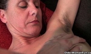 Hairy granny with hard nipples xVideos