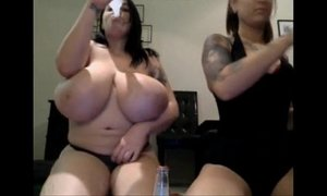 Giant Boobs On Webcam Slut