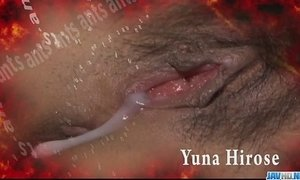 Redhead Asian chick Yuna Hirose gagging a throbbing cock and screwed xVideos