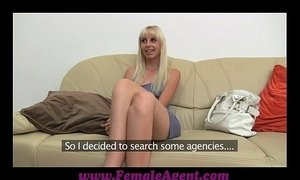 FemaleAgent Tight blonde anal casting xVideos