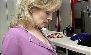 Mature blonde thinking about kinky things here