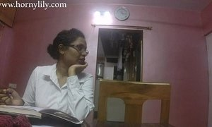 Indian Aunty Sex Horny Lily In Office xVideos