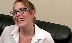 Facefucked gagging slut