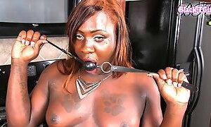 Piper La Pipe in Ebony Piper La Pipe - BlackTGirls