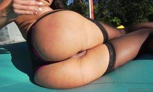 Amazing Busty Babe Cock