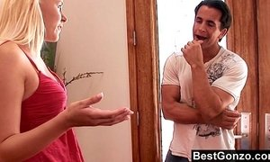 Slutty stepsister gets what she wants xVideos