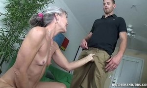 Grannys sex toy xVideos