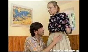 Granny Got Her Hairy Old Ass Anal Fucked xVideos