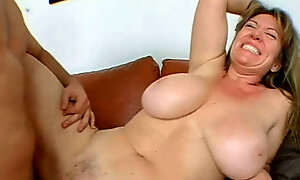 Big titted mom loves the cock!