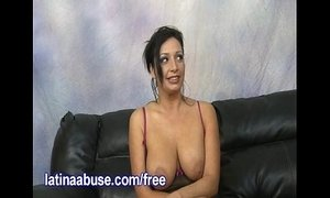 Busty Latina Takes On Two Big White Peckers xVideos