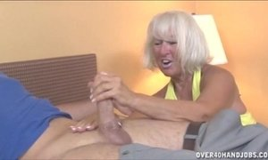 Granny Jerking The Young Guy xVideos