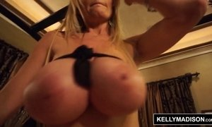 KELLY MADISON - Black Lingerie Fucking and Facial AnalDin
