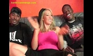 Two Black Studs For a Blonde xVideos