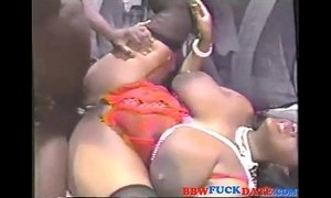 Mega Fat Ebony Squirting Breast Milk on Huge Cock xVideos
