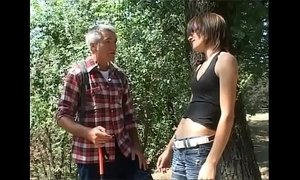 Please don't leave me alone with my dirty grandpa! xVideos