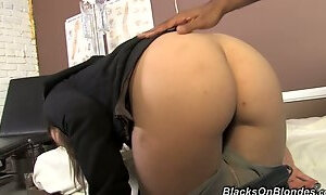 Amber Rayne Has Ass Pain From Fingering And Needs A Doctor