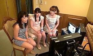 Pornstar porn video featuring Ai Uehara and Yui Hatano
