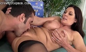 Horny stepmom pussy wet