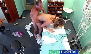 FakeHospital Sexy housewife cheats on hubby with her doctor YouPorn