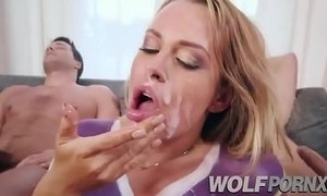 In a trio with my step sister Corinna Blake and my best friend after watching Am xVideos