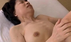 Mature Woman toying pussy With her Hairy Pussy licked and Fingered And Licked By Young Guy On The Mattress
