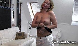 Horny Mature Stepmom Fucks Son Caught Masturbating xVideos