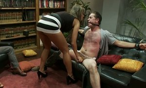 Convivial wife cuckolds her husband while neighbor watches Beeg