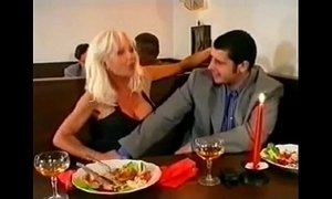 Beautiful Super Hot Blonde Gangbanged and DP in Bar, Helen Duval xVideos