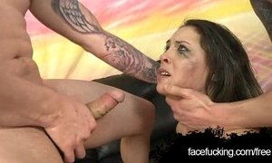 Lola Vaughn Throated By Two Cocks xVideos