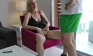 Hot mom seduced her not son and got amazing fuck