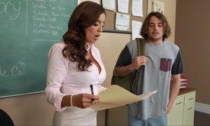 Horny teacher forces student Beeg