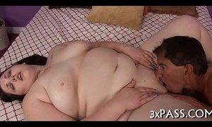 Large beautiful woman naked