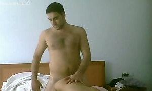 Turkish guy drills one slut in the hotel room
