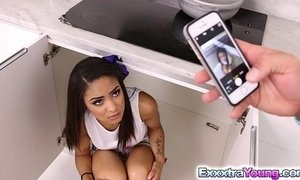 Naughty Nicole Bexley takes stepdad's cock xVideos