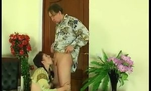 Mature lady licks a young ass and gets her own anal orgasm AnalDin