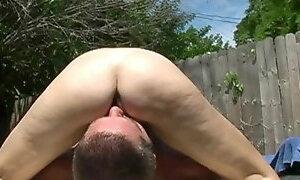 Outdoors felatio